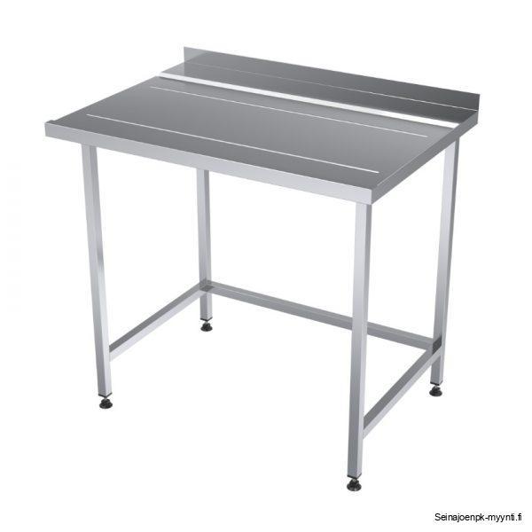 Purkauspöytä on tarkoitettu suurkeittiöiden tislinjaosastolle