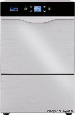 Ravintolakäyttöön soveltuva GAM astianpesukone, luukkumallinen