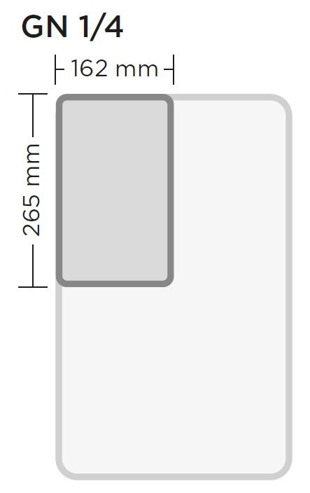 GN 1/4 on gastronorm astia, joita käytetään ravintola- ja suurkeittiöissä. GN 1/4 astian ulkomitat ovat 162 x 265 mm.
