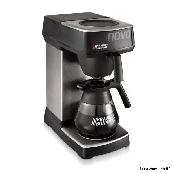 Bravilor Bonamat Novo kahvinkeitin on hyvä ostosvalinta, kun haluat tarjoilla hyvää kahvia.