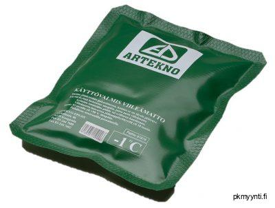 Kylmägeelimattoa ladataan pakasteessa 10–20 tuntia, jonka jälkeen ne ovat käyttövalmiita. Käytön jälkeen elementtiä voidaan ladata aina uudestaan.