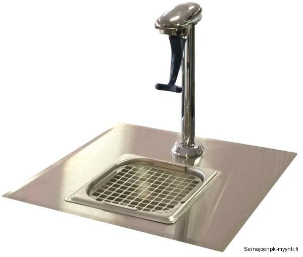 Festivo vesihana soveltuu ravintolasaliin asiakkaiden vedenottopisteeksi. Vesihanassa on lasilla painettava hana, jonka jälkeen hanasta tulee vettä. Vesihanassa on mukana asennuslevy ja viemäröitävä tippa-allas.