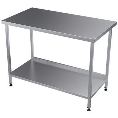 Terästyöpöydät ammattikeittiöihin ja elintarviketuotantokäyttöön