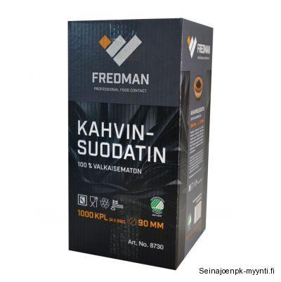 Fredman suppilosuodatinpaperi soveltuu kahviloiden ja ravintoloiden kahvinkeittimiin. Kahvinkeitin merkkejä ovat muun muassa Bravilor Bonamat, Coffee Queen, Bunn, Animo ja Metos.