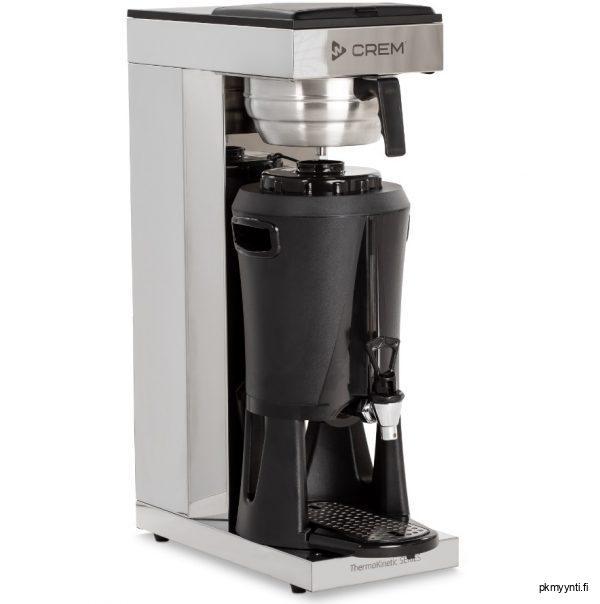 Crem termossäiliökahvinkeitin on kahvilaan ja ravintolaan soveltuva termossäiliökeitin. Keitin soveltuu myös toimisto- ja kokouskahvituksiin.
