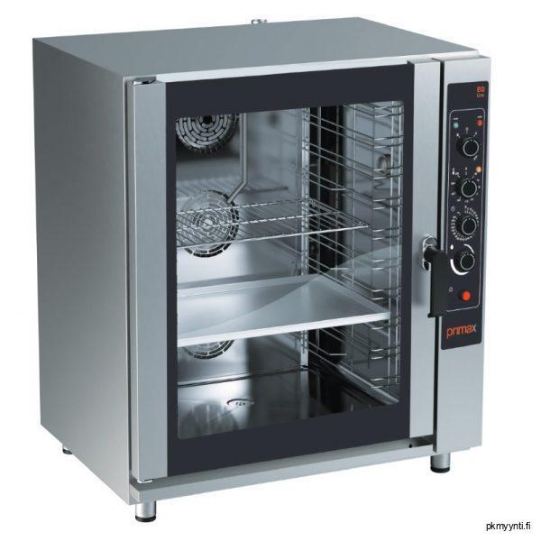 Yhdistelmäuuni suurkeittiöihin, jossa kapasiteetti on 10 x GN 1/1-65. Yhdistelmäuuniin mahtuu myös leipomopellit 600 x 400 mm.