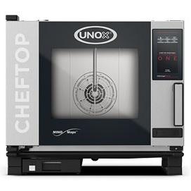 Unox Cheftop One XEVC-0511-E1RM yhdistelmäuuni keittiöalan ammattilaiselle vaativaan ammattikeittiökäyttöön.
